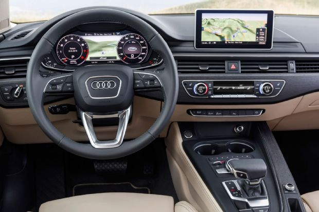 2017 Audi A4 Interior From Driver Seat