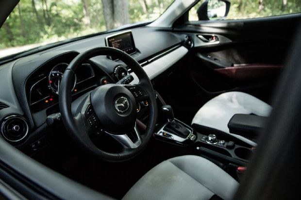 2016 Mazda CX 3 Grand Touring AWD Cabin 01