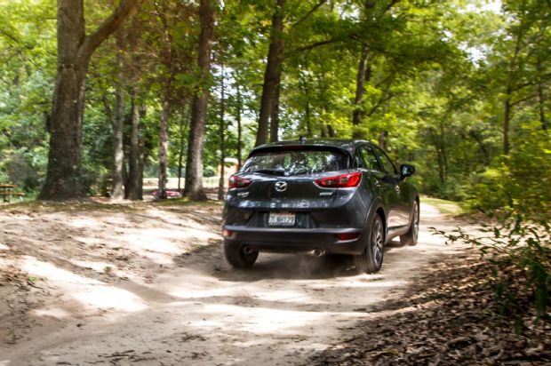 2016 Mazda CX 3 Grand Touring AWD Rear Three Quarter In Motion