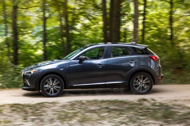 2016 Mazda CX 3 Grand Touring AWD Side Profile In Motion