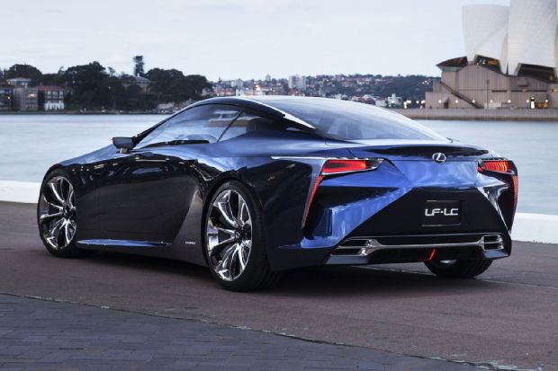 Lexus LF LC Left Rear Side