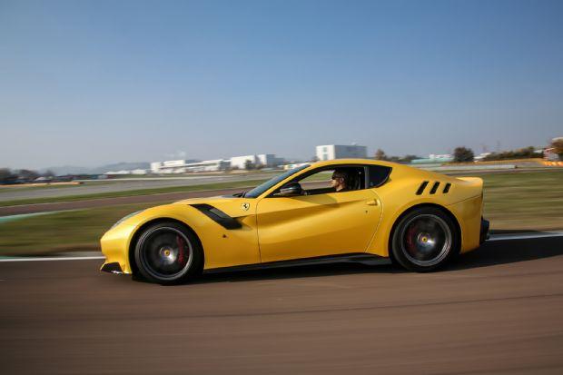 Ferrari F12tdf Side In Motion 10