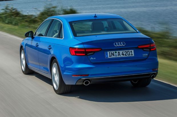 2017 Audi A4 Rear Three Quarter View In Motion